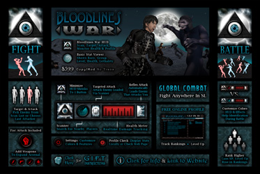 The Bloodlines War HUD